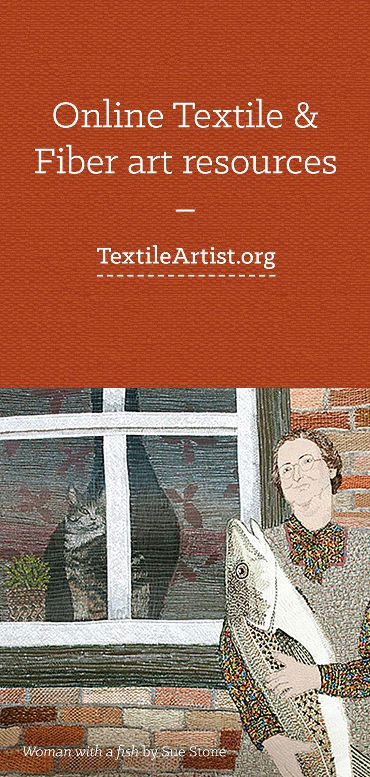 Online Textile & Fiber art resources