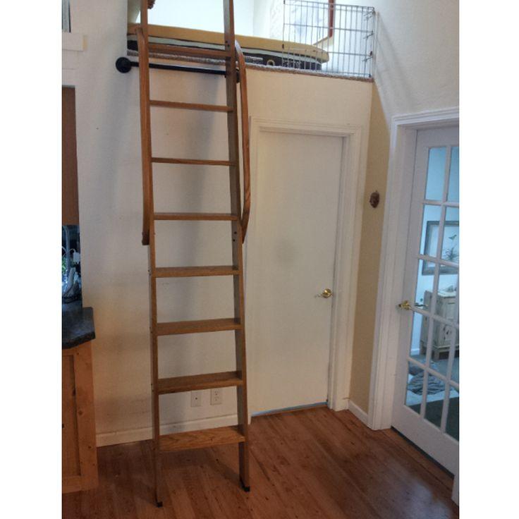 Ladder, Ladders, Loft Ladder, Library Ladder, Custom Ladder, Customized  Ladder,