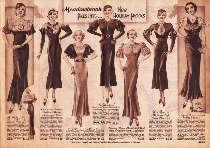 1930s holiday frocks