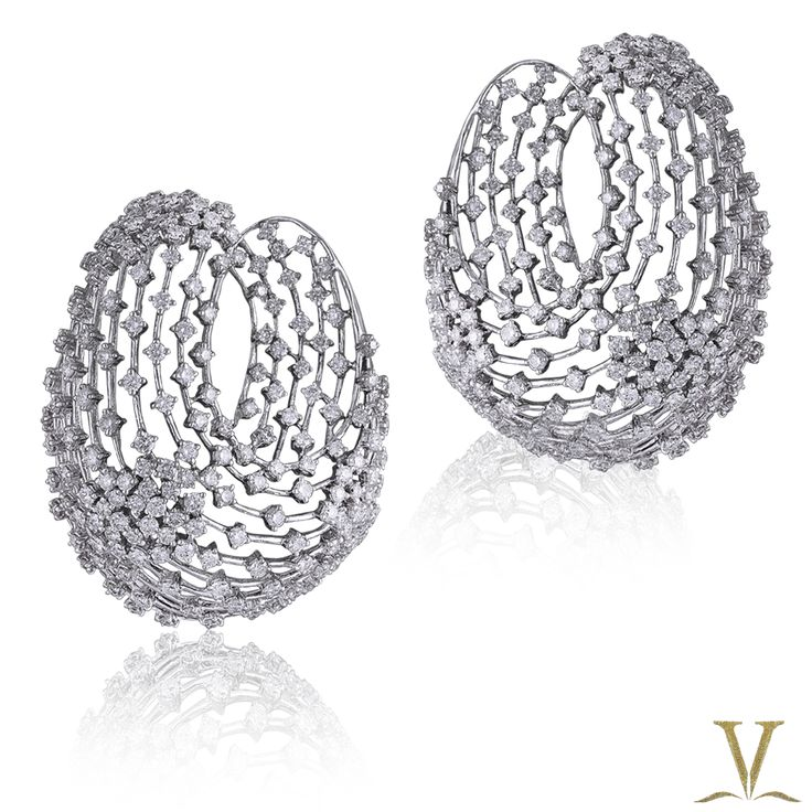 Dazzling earrings by the Adornologist, Varuna D Jani