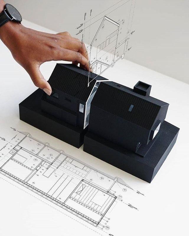Architekturmodell // – #Architekturmodell