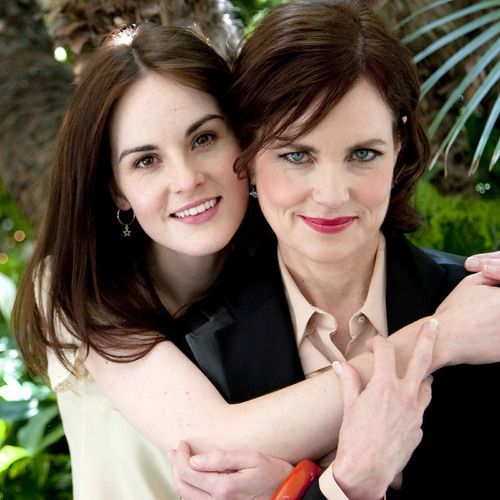 .Mother and Daughter | More Downton Abbey photos here:  http://mylusciouslife.com/historical-style-downton-abbey-photos/