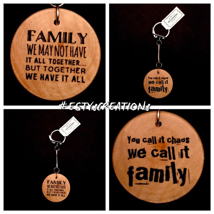A personal favorite from my Etsy shop https://www.etsy.com/ca/listing/513384079/2-family-keychains-family-reunion-family