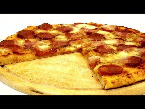 Простой рецепт вкусной пиццы - YouTube