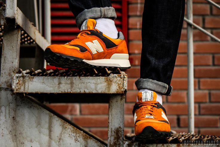Stone Island x New Balance 577 Orange by Vyacheslav  Kolomeets on 500px