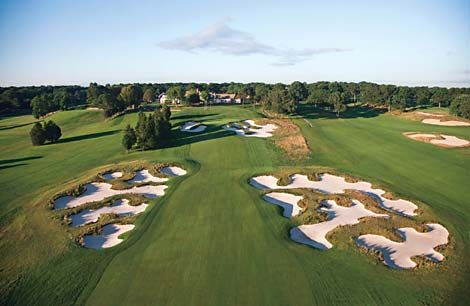 Bethpage Black, sight of the US Open 2002 & 2009 and the 2012 Barclays Championship.