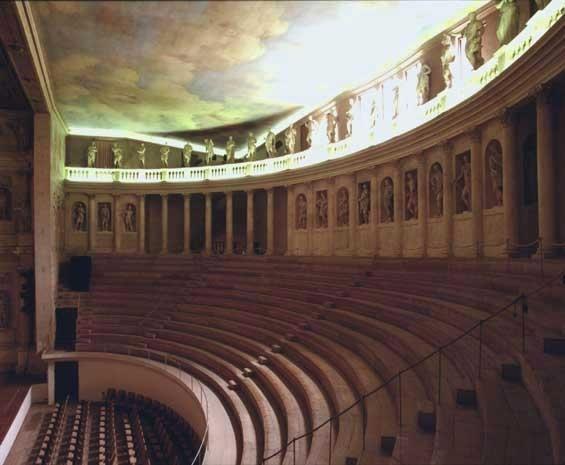 Teatro Olympico,Vincenza, arch. Andrea Palladio