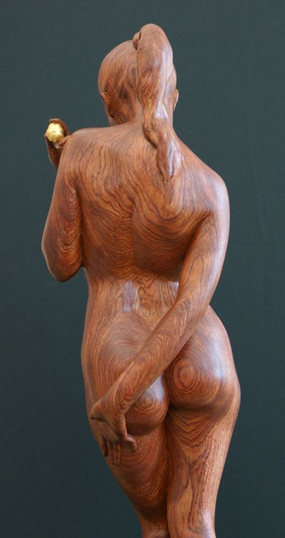 Kvitka Anatoly ~ Eva ~ Wood Sculpture Dos                                                                                                                                                      More
