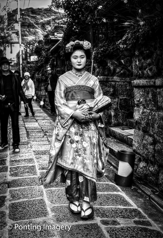 Japan - Geisha in Kyoto Japan