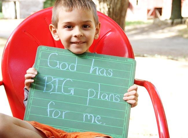 {God has BIG plans for me}