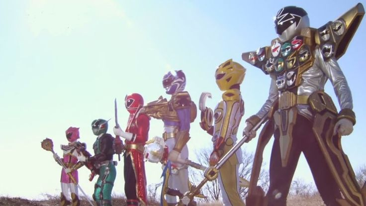 Power Rangers Super Megaforce Full Episodes English 5, 6, 7, 8