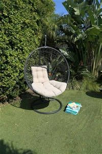 Excalibur Outdoor Living Hanging Egg Chair