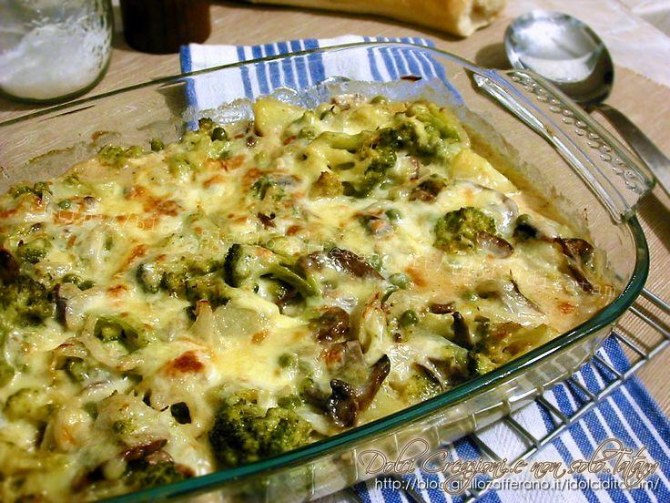 Pasticcio+di+pollo+con+verdure+e+formaggi