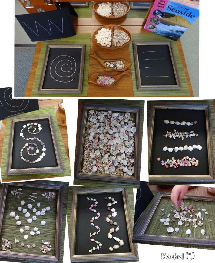 Chalk & shells