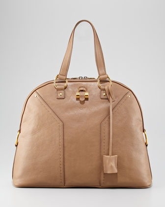 Oversize Muse Dome Satchel Bag by Yves Saint Laurent at Neiman ...