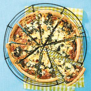 Recept - Mediterrane spinaziequiche - Allerhande