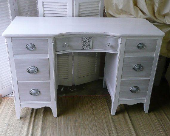 25+ best Gray desk ideas on Pinterest | Desks, Rustic desk and ...