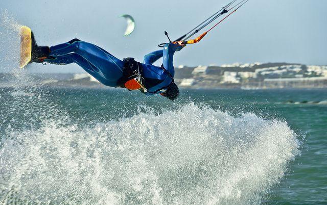 Kitesurfing in Langebaan   Flickr - Photo Sharing!