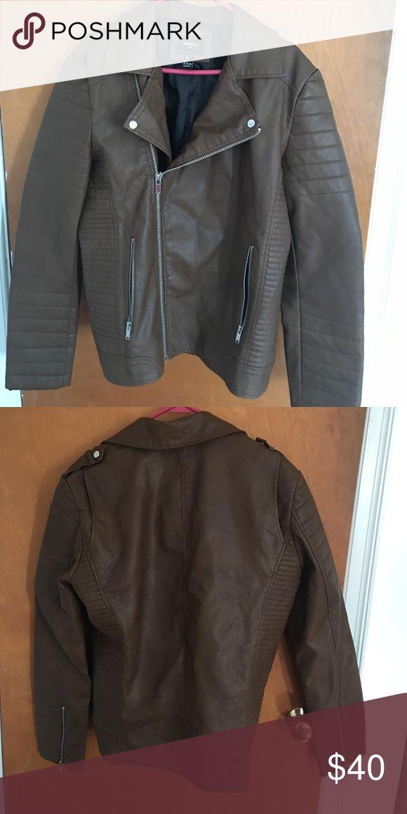 Faux leather jacket Men's jacket. Never worn NWOT Forever 21 Jackets & Coats