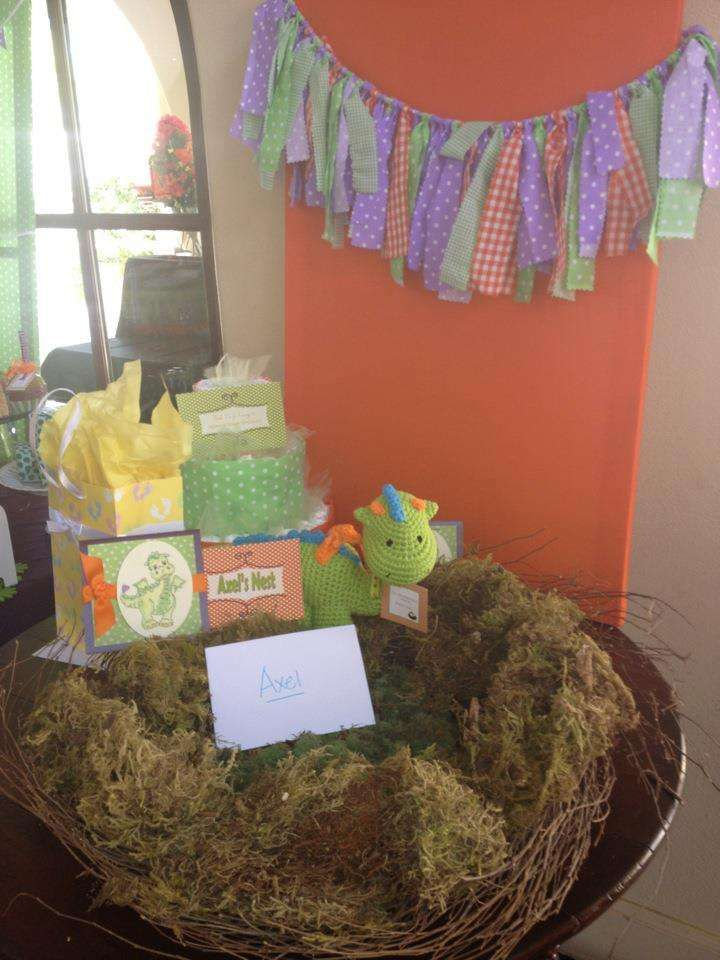 Baby Dragon Baby Shower Party Ideas | Photo 5 of 10 | Catch My Party
