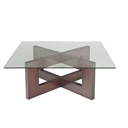 Square Glass Coffee Table, Purchased, Love It