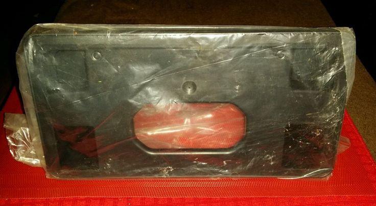 HONDA CROSSTOUR 2010-2011 Front License Plate Mounting Bracket & Hardware NIP  #Honda