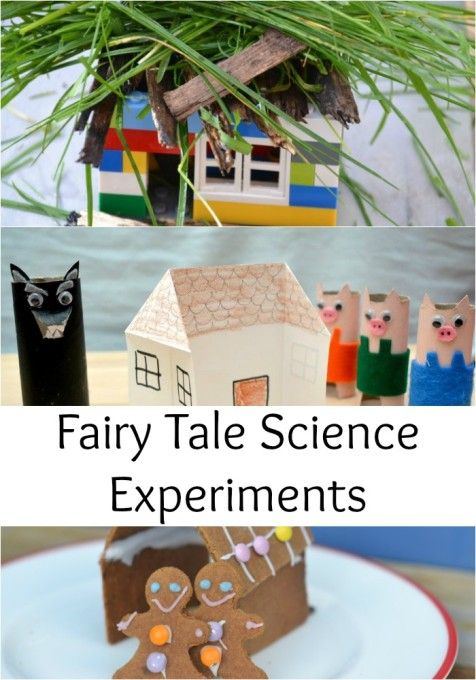 Fairy Tale Science Experiments, great for Early Years, Kindergarten and KS1