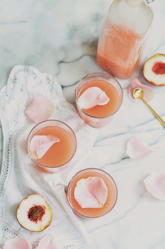 Heart of Gold: White Peach & Rose Lemonade