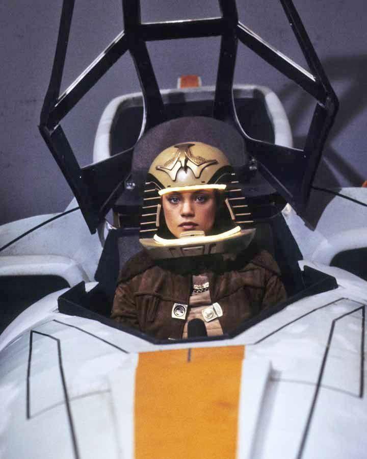 vintageruminance:  Maren Jensen - Battlestar Galactica publicity still, 1978