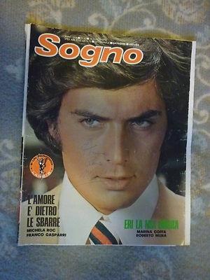 Fotoromanzi Sogno n10 del 1975 con Franco Gasparri <3