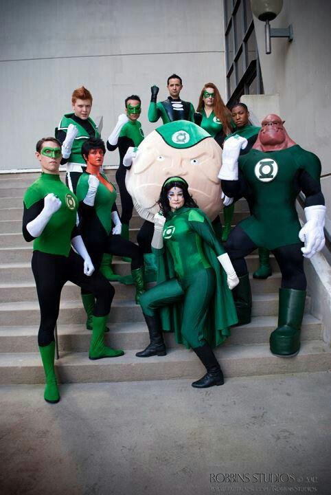 Green Lantern Corps Costumes - DC