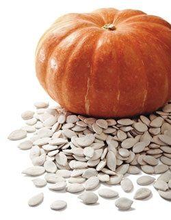 O uso medicinal da semente de abóbora (ou jerimum, em algumas regiões do Brasil) é comum em vários povos, como os chineses, cuja milenar medicina é uma das mais sábias e eficazes.