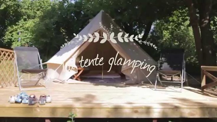 TENTE GLAMPING  du Camping Les Chamberts