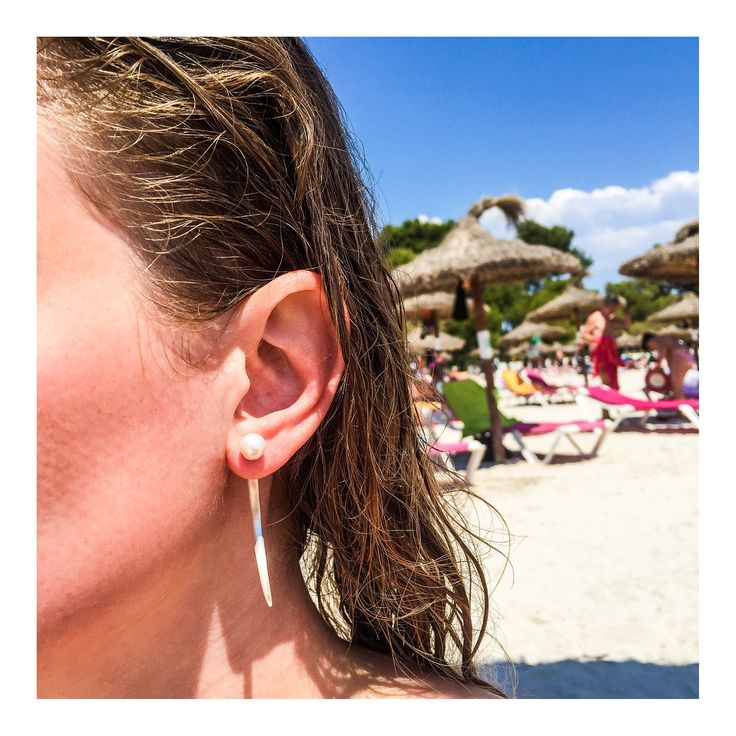 The perfect earring for a beach-look  JEWELRY >> http://www.janekoenig.com/earrings.html