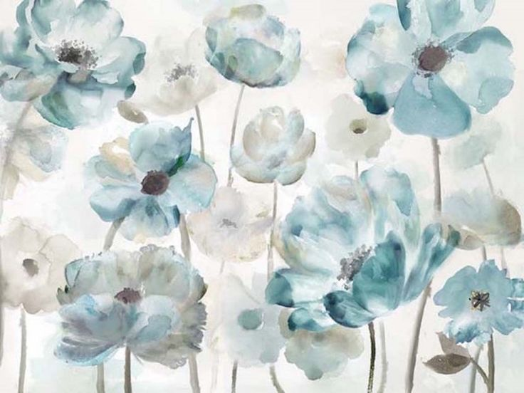 Peaceful Poppies Oil Painting on Canvas Wall Art $449.95