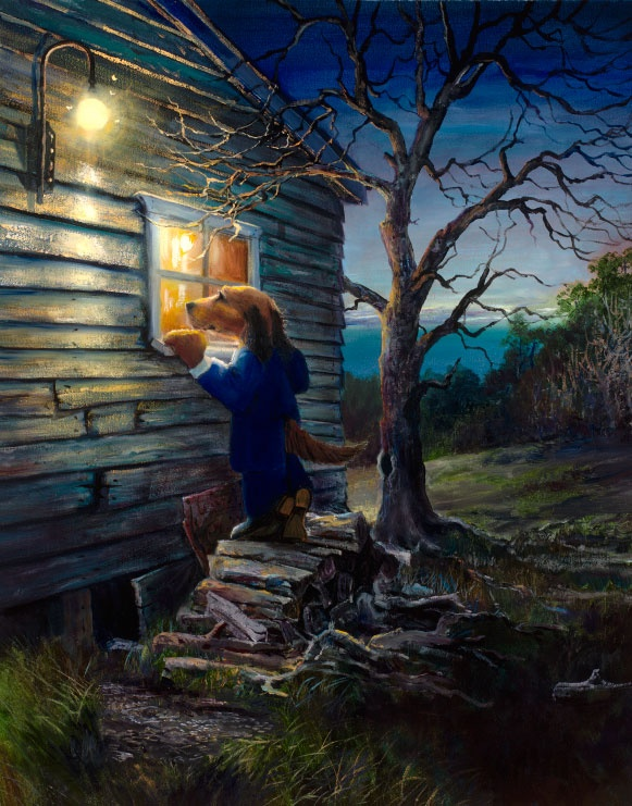 The Woodshed, my favourite Lonely Dog collection by Ivan Clarke