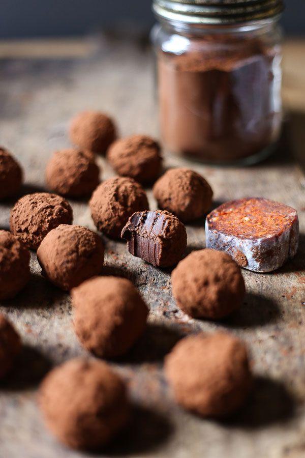 Nduja Chocolate Truffles Recipe Chocolate Truffles Dessert