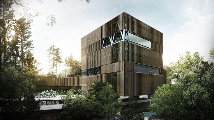 Mención honrosa en competición del diseño de Facultad de Ingeniería de la…