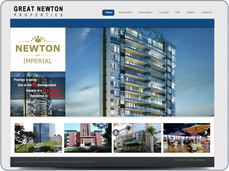 http://www.cheapwebdesign.com.sg/index.php/en/component/content/article/10-portfolio/cms-website/14-great-newton-properties Newton imperial is truly the epitome of the privileged life. it's no wonder such a magnificent lifestyle like this is limited only to the select few, Savour a world of untold luxury where everything within your exquisite condominium is handpicked specially for the creme de la creme.