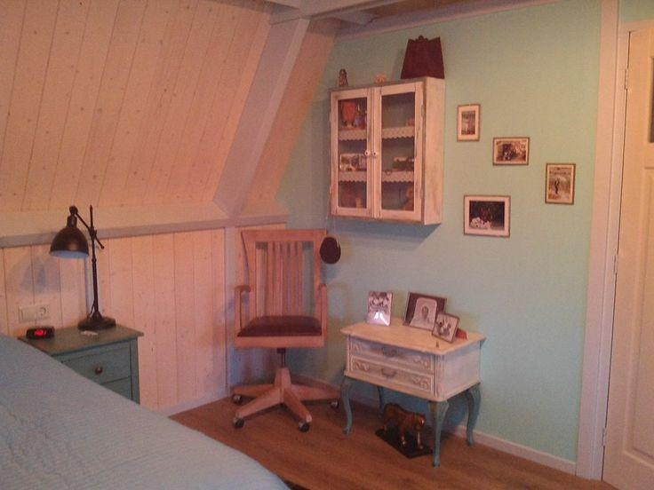 Mijn nieuwe slaapkamer is klaar,geinspireerd door de #AnnieSloan kleuren Gr Jeannete