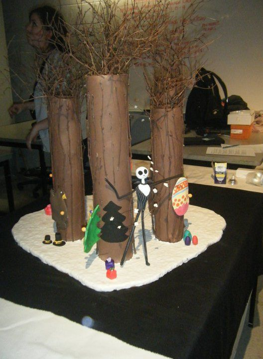 Best nightmare before christmas decor images on pinterest