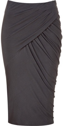 Donna Karan Shadow twisted drape skirt. Beautiful skirt.  Sadly my ass is too ginormous to wear this
