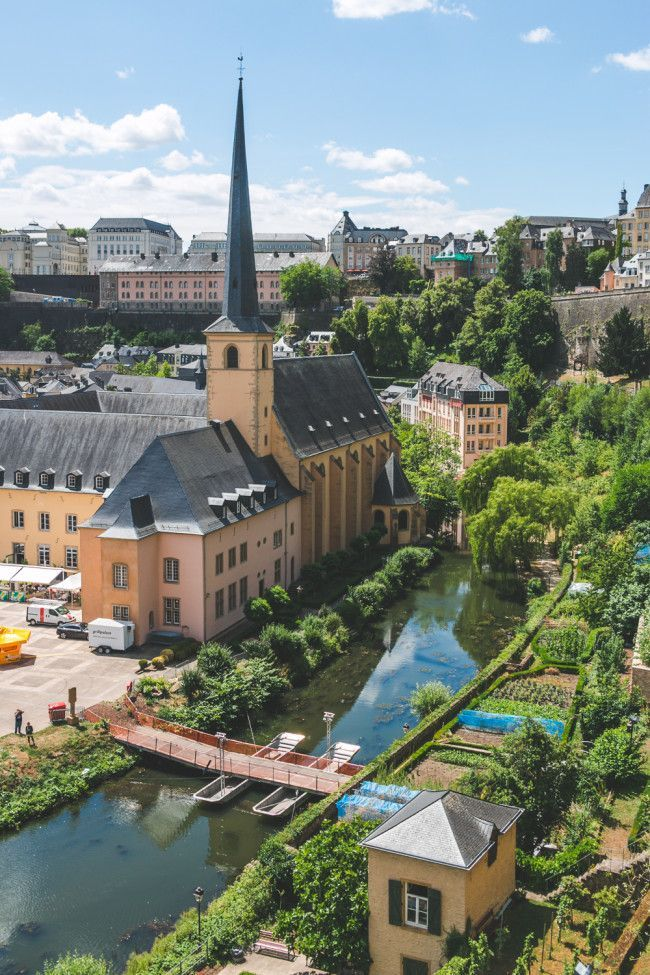 Catacombs, a Corniche & Cake // Luxembourg City, Luxembourg • The Overseas Escape