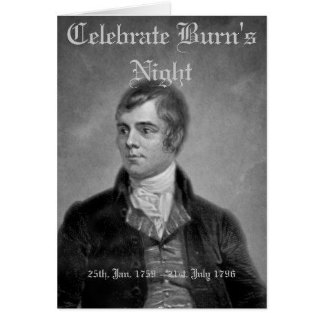492 best burns night images on pinterest burns night greeting card m4hsunfo