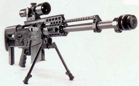 AS50 Sniper Rifle  Senjata Api Paling Berbahaya di Dunia