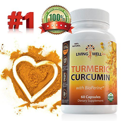 Turmeric Curcumin with BioPerine Supplement 95 Curcuminoids for Optimal Absorption AntiInflammatory Antioxidant AntiAging  PainJoint Support All Natural  NonGMO Turmeric Curcumin Capsules -- More info could be found at the image url.  This link participates in Amazon Service LLC Associates Program, a program designed to let participant earn advertising fees by advertising and linking to Amazon.com.