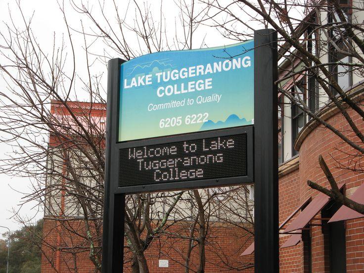 Lake Tuggerah College #LED #sign
