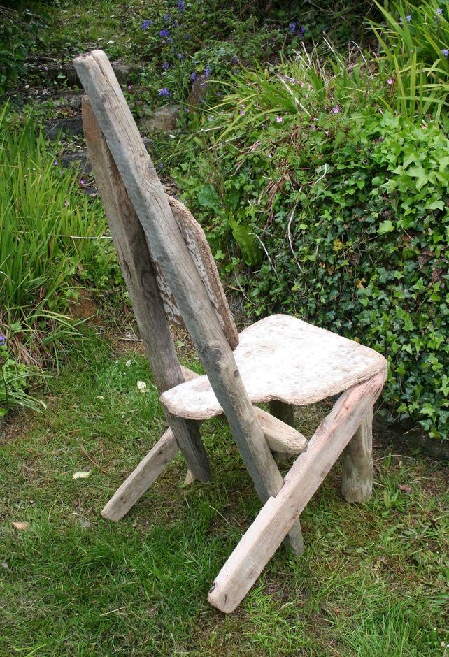Driftwood Chair, Drift Wood,Unique Chair,Feature Chair,Garden seat ,Deck Chair £195.00