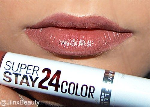#Maybelline SuperStay Dual Ended Lipstick in 725 Caramel Kiss - #Review and #Swatches up on my blog now! x #beauty #makeup #bblogger #liquidlipstick #lipstick #bbloggers