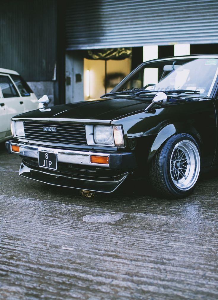 Best Retro Car Images On Pinterest Toyota Corolla Japanese